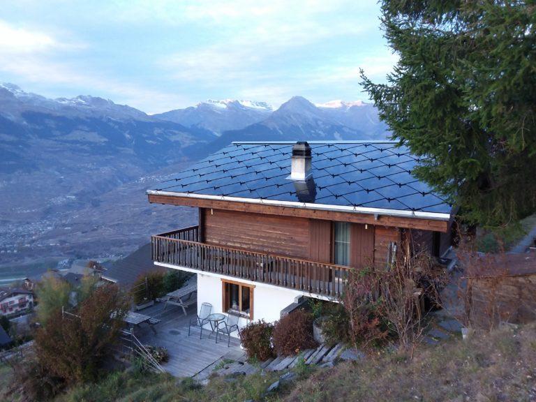 Rénovation énergétique d'un chalet à Veysonnaz (VS)