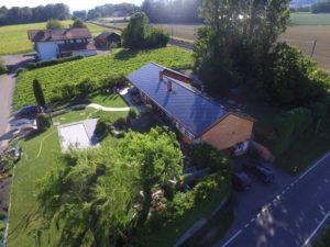 Rénovation énergétique d'une maison à Rolle (VD)