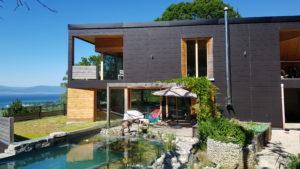 Construction d'une maison autarcique à Châtillon (FR)