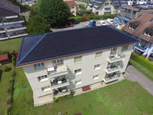 Réfection urgente d'une toiture à Gland (VD)